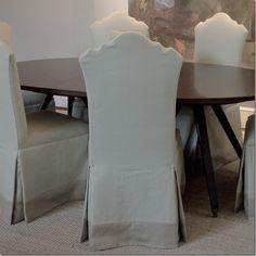 chair skirt detail- Cote de Texas