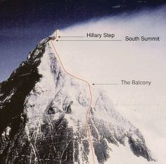 The notorious Hillary Step resulted in fatal delays led to 1979 tragedy. Bergen, Best Travel Quotes, Mountain Climbers, Wildlife Park, Mountaineering, Adventure Awaits, Rock Climbing, Trekking, Rob Hall
