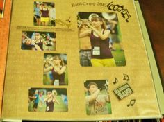 Scrapbook page- Marian