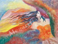 Artist Patouna  Anastasia title spring dia,.50x60oil  on canvas prica 600