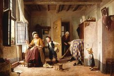 Gaetano Chierici (Reggio Emilia, 1838 - 1920) L'istinto Alle armi , 1868