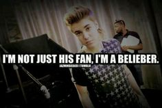Remeember. Thiss. Once a belieber alwways a belieber if you stop believeing , no coming baack, That's not what beliebers do!<3