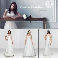 Caroline Castigliano, Fall 2014 collection, as seen on http://www.bride.ca/wedding-dresses/?GownTypeID=1&GownLabelID=172