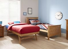 An ingenious space-saver with a high quality wooden finish, our Valencia day is a great guest bed solution Feature Walls, Town House, Space Saver, Guest Bed, Brickwork, Metal Furniture, Soft Furnishings, Bed Frame, King Size