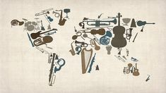 Lose Yourself In A Map Of Every Music Genre Ever ... music nerd geeking out right now