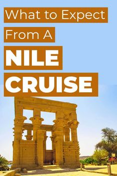 If you're considering taking a Nile Cruise while in Egypt, find out what to expect from the boat, the tours, what you should tip and more. Africa Destinations, Cruise Destinations, Family Vacation Destinations, Family Vacations, Holiday Destinations, Vacation Ideas, Vacation Spots, Family Travel, Israel Travel