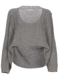 This would be super cute with a high waist skirt or long rise jeans. ;)
