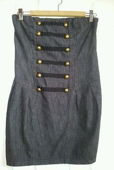 Double Zero Size M Strapless Dress | eBay
