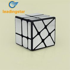 LeadingStar Brand New Windmill Magic Cube WindMirror Cube Puzzles Speed Mirror Cube 57mm Educational Toys zk15 #Affiliate