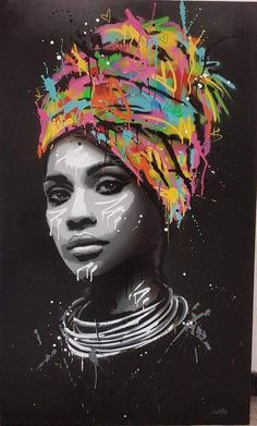 Seaty Artwork African Woman Graffiti Canvas Art Print Pop Art Seaty Artwork African Woman Graffiti Canvas Art Print Pop Art Petra B. pbolender Faces of this world Graffiti Alley Print […] Graffiti Canvas Art, Graffiti Painting, Street Art Graffiti, Canvas Art Prints, Wall Prints, Painting Canvas, Pop Art Prints, Black Art Painting, Graffiti Artwork