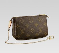 louis vuitton mini pochette - I need something like this to throw in my diaper bag for those quick trips.