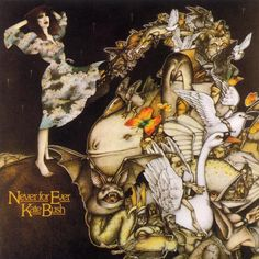 Never for Ever - album cover - my first KB album as a teenager