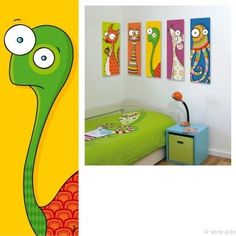 Déco enfants: really like the octopus most of all