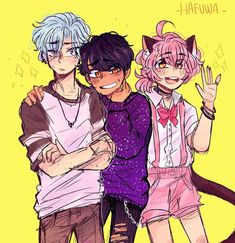 ]If use give credit to Hafuwa – – This is absolutely adorable! I absolutely love your art style uwu ? Drawing Reference Poses, Art Reference, Aphmau My Street, Aphmau Wallpaper, Aphmau Pictures, Aarmau Fanart, Aphmau Characters, Aphmau And Aaron, Aphmau Memes
