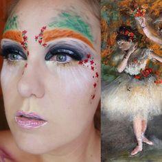 Conforme a inspiração chegar, Lazear planeja recriar mais pinturas através da maquiagem.