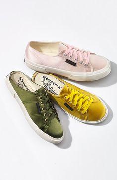 The Man Repeller x Superga Satin Slip-On Sneaker (Women) | Nordstrom