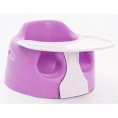 Bumbo Baby Sitter Chair with Play Tray The Bumbo Baby Sitter Chair is a revolutionary new concept with world wide  patent rights, uniquely designed according to the baby's posture. It is  certainly a different take on high chairs and boosters.  The baby seat will allow baby to independently sit upright from as  young as 3 months up to an age of approximately 14 months.  The baby  Bumbo seat provides a snug and cozy environment for the baby.  For ...