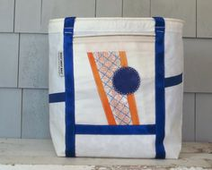 Eco Fashion Nautical Gift Beach Bag Beach Tote by Hoist Away Bags, $155.00 http://www.etsy.com/shop/HoistAwayBags