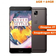 Oneplus 3T LTE 4G Smart Phone 6GB RAM 64GB ROM
