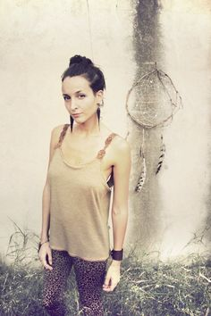 INDIO MACRAME TOP by SiamicWear on Etsy