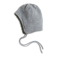 Knitted Cap Helmet, Grey, Accessories, Kids | Lindex