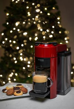 Treat the 'Santa' in your life to coffee that's #ACupAbove, brewed from the new Nespresso VertuoLine machine. It's the perfect holiday gift for any coffee lover.