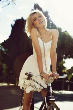 #White Lace Dresses