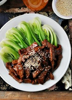 Low FODMAP Recipe and Gluten Free Recipe - Sticky stir-fried beef