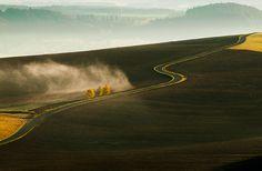 Tri brezy Country Roads, Landscapes, Fotografia, Paisajes, Scenery