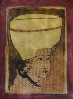 "La gorra, 2013 – From ""Identity"" Series, Collage, 70 x 50cm"