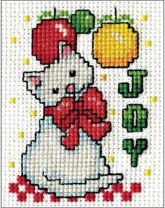 Design Works Joy Kitty Mini - Cross Stitch Kit 509