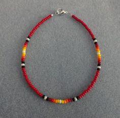 Native American Beaded Bracelets | Navajo Ghost Bead Bracelet 07 Native American Jewelry