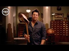 PSA Stone | The Librarians | TNT - YouTube <--- I NEEEED THIS SHOW!