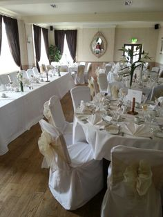 Simply Bows And Chair Covers Newcastle Toddler Swing 37 Best Yorkshire Tees Valley Images The Golden Fleece In Thirsk White Gold Transforms Your Room Lesley Nockels