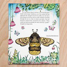 My pages for the #inkyivycollaboration are finished! #johannabasford #showyourcolours #showyourcolors #inkyivycollaboration #ivyandtheinkybutterfly #inkyivy #inkyivycoloringbook #ivyandtheinkybutterflycoloringbook #prismacolor #prismacolorpremiere #carandache #luminance #carandacheluminance #adultcoloring #adultcoloringbook #coloringbook #coloring #coloringforadults