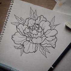 Things To Know About Tattoos Tattoo Sketches, Tattoo Drawings, Art Drawings, Tatto Floral, Illustration Tattoo, Tattoo Hals, Tattoo Portfolio, Peonies Tattoo, Japanese Flowers