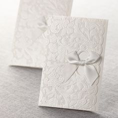 Classic Floral Letter-fold by B Wedding Invitations