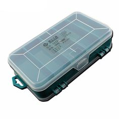 Transparent Tool Box Double-Side Plastic Tool Box