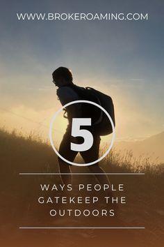 Backpacking For Beginners, Backpacking Tips, Hiking Gear, Thru Hiking, New Community, Appalachian Trail, New Hobbies, Good Advice, 5 Ways