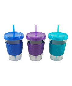 Look what I found on #zulily! GoGo's Fountain Berry Tumbler Set by Reduce #zulilyfinds