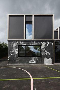 необычный фасад дома