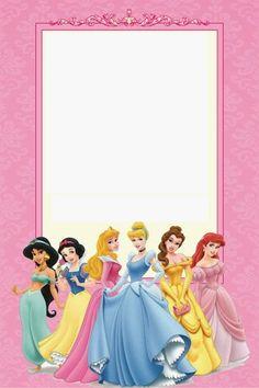 Disney Princess Party: Free Printable Mini Kit. Editable.