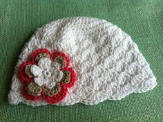 Crochet Baby Girl Hat by BettyBoopCrochet on Etsy, $22.00