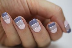 10 Ways to Nail the Ombre Trend With Your Mani via Brit + Co