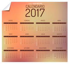 Calendario 2017 vector ai jpg | calendars 2016 kalendar 2016