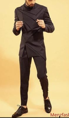 Wedding Kurta For Men, Fashion Suits, Mens Suits, Dress Up, Clothing, Pants, Fashion Design, Accessories, Style