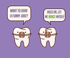 Some orthodontist humor for you. These bracketed teeth look like Bane from Batman!!