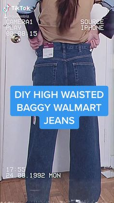 Diy Clothes And Shoes, Baggy Clothes, Sewing Clothes, Baggy Pants Outfit, Diy Clothes Jeans, Clothes Crafts, Indie Outfits, Retro Outfits, Cute Casual Outfits