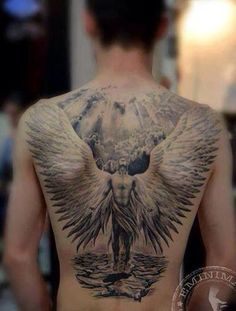 Angel tattoo - beautiful