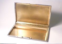 Antique solid silver cigarette / business card cases Customer satisfaction & world wide tracked insured delivery guaranteed. Risk free online shopping. No need to confirm the prices as all this free...........free worldwide shipping, tracked, insured, next day dispatch (special delivery next day guaranteed - UK), free luxury gift box & handmade gift tag. All purchases are shipped with a certificate of authenticity, historical fact sheets & collector's information pack. 10% discoun...
